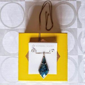 Kendra Scott Olivia Silver Long Pendant Necklace